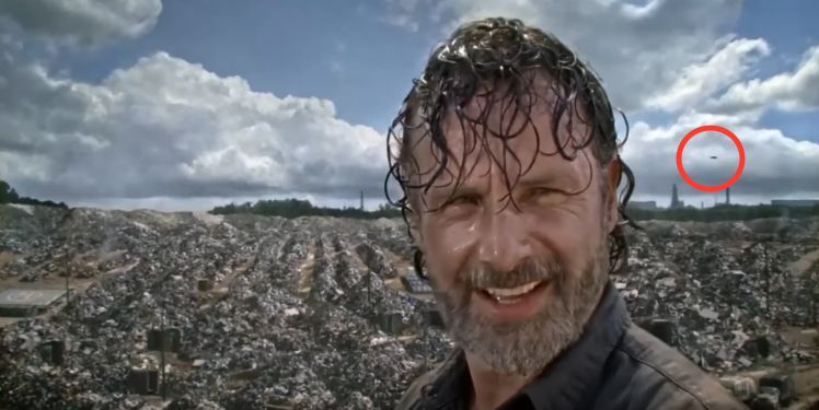 Even A 'Walking Dead' Star Is Suspicious Of That Huge