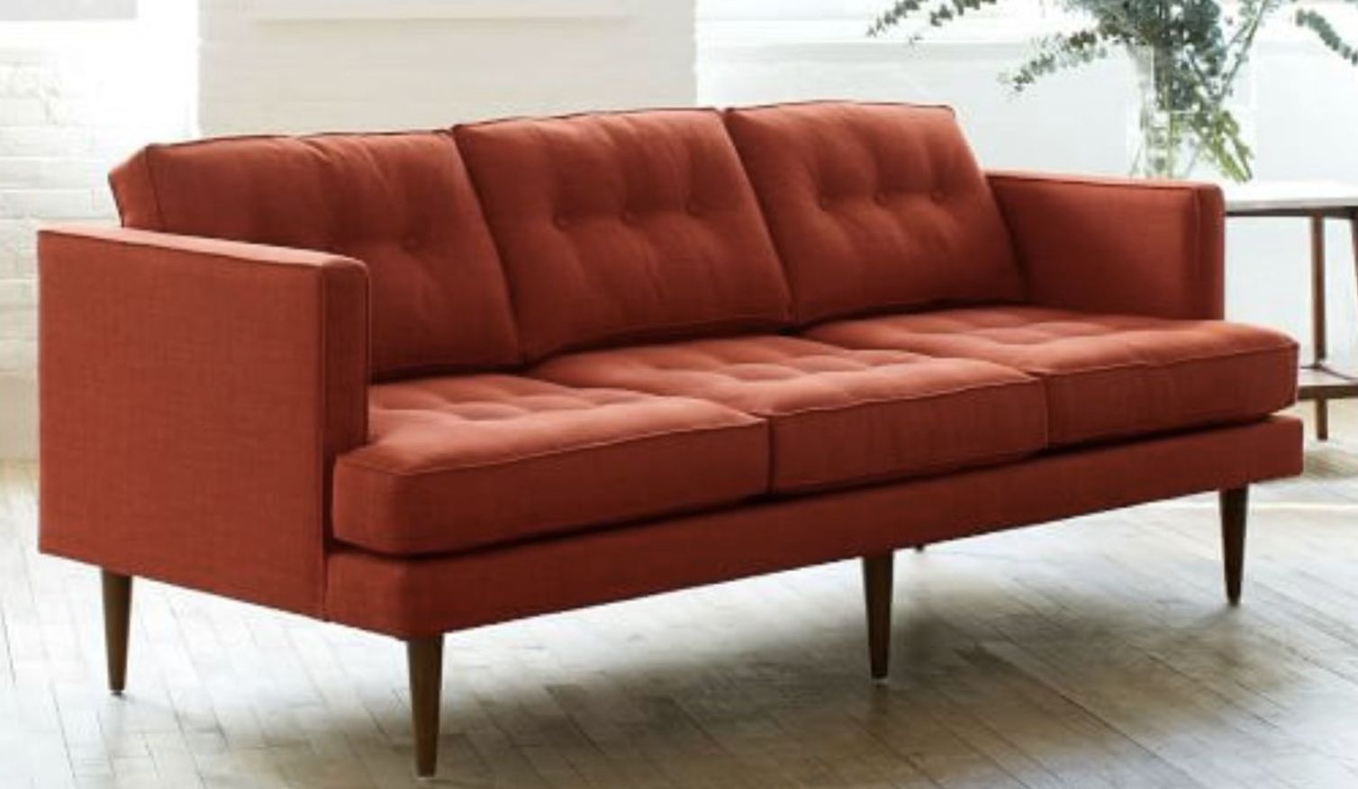 Teens slamming on sofa
