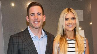 NEW YORK, NY - SEPTEMBER 15:  Tarek El Moussa and Christina El Moussa attend Tarek and Christina, TV's Favorite House Flippers, Featured at TREND/Stone Source Event in New York on September 15, 2016 in New York City.  (Photo by Sylvain Gaboury/Patrick McMullan via Getty Images)