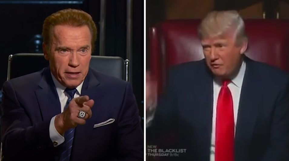 Arnold Schwarzenegger wants to swap places with Trump 03.02.2017 45