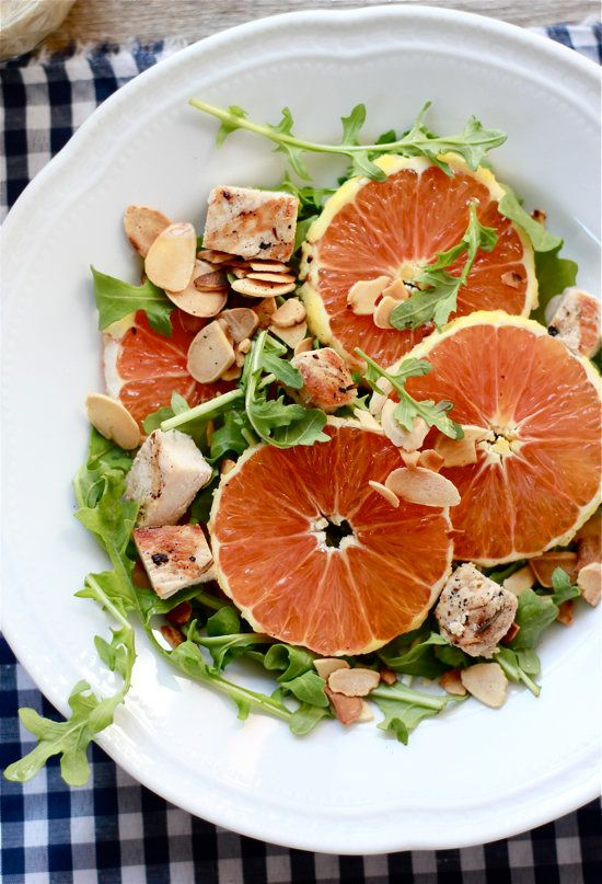 This cara cara salad shows you how to add an entire orange to a small green salad and call it lunch.