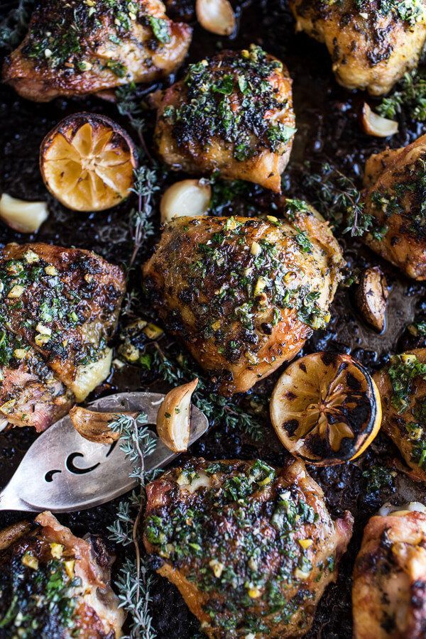 Garlic butter roasted chicken might be the most delicious way to boost your immune system.
