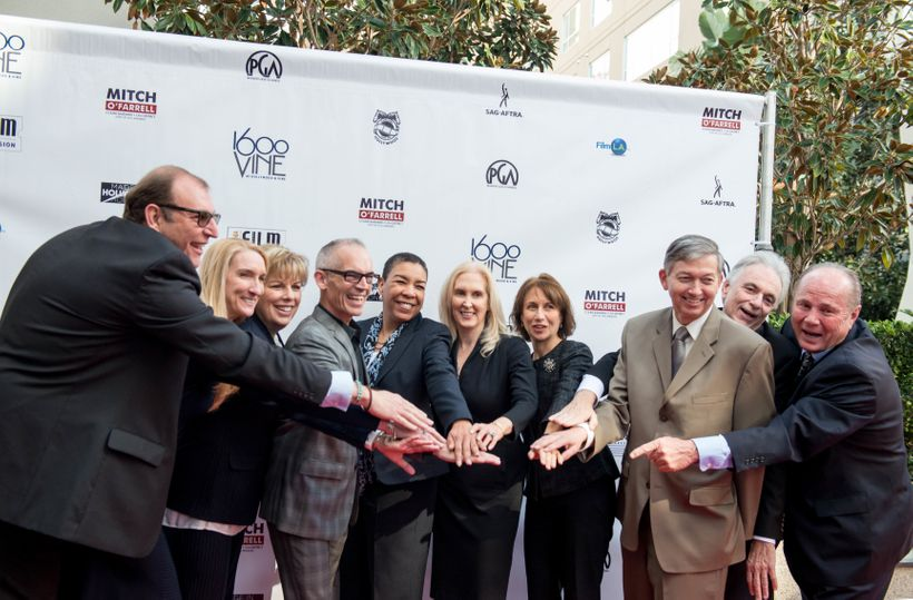 <strong><u>Made In Hollywood Honors Partners</u></strong> (Left to Right): <strong>Steve Dayan</strong>, Teamsters Local 399;