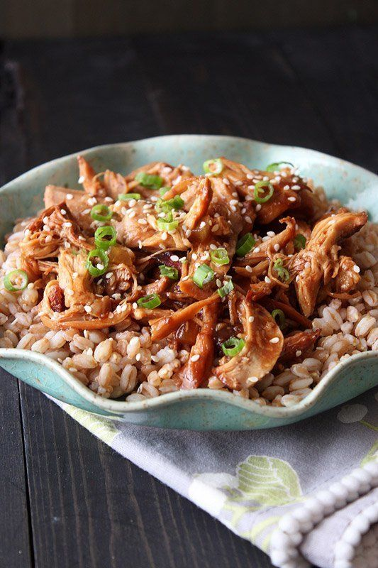 "<strong>Get the <a href=""http://www.handletheheat.com/slow-cooker-honey-sesame-chicken/"" target=""_blank"">Slow Cooker Honey Se"