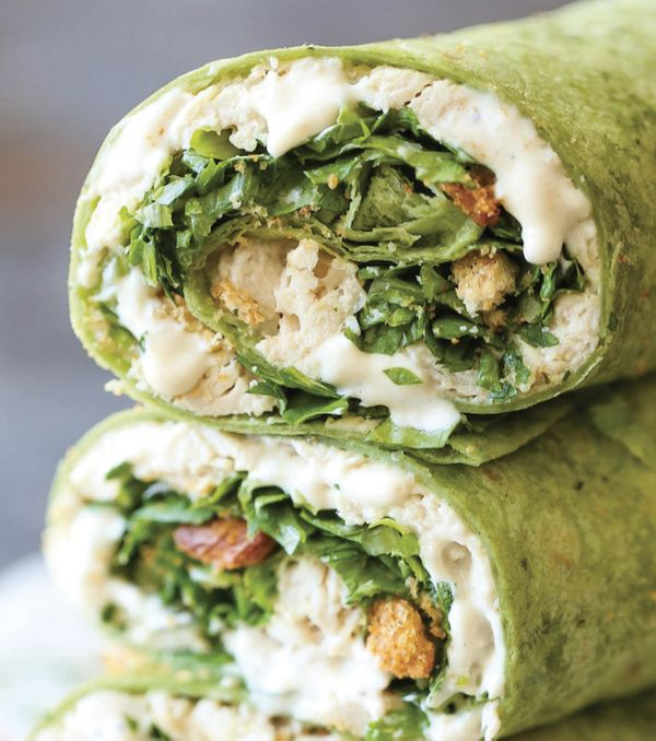 "<strong>Get the <a href=""http://damndelicious.net/2016/12/06/slow-cooker-chicken-caesar-wraps/"" target=""_blank"">Slow Cooker C"
