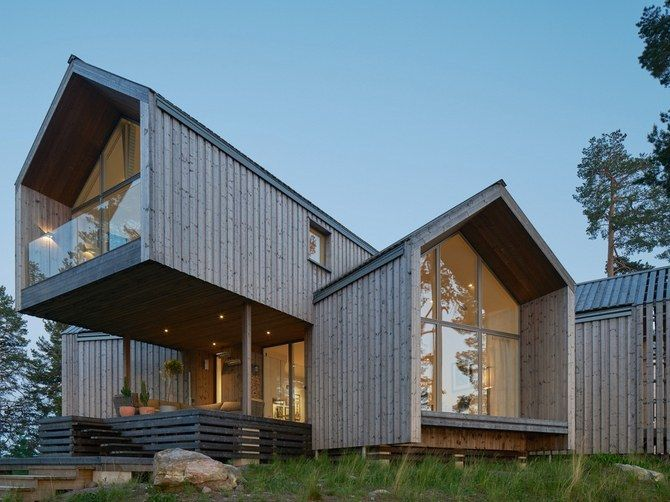 <p>Locally-sourced timber has been used to build homes in and around Stockholm, one of Europe's fastest growing cities.</p>