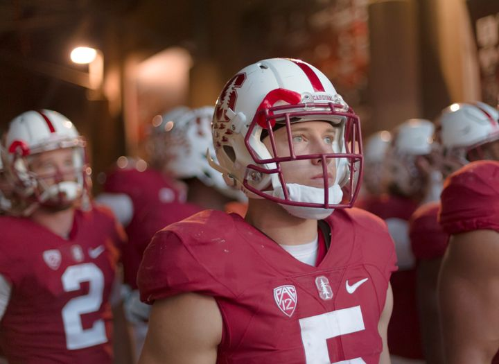 According to ESPN The Magazine, McCaffrey ranked second in the nation among Power 5 running backs on rushing plays directed o
