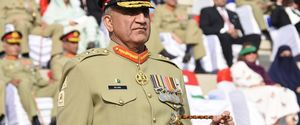 PAKISTAN 2016 MILITARY RAWALPINDI GENERAL CHIEF OF ARMY STAFF OF THE PAKISTAN ARMY NEW ARMY CHIEF QAMAR JAVED BAJWA