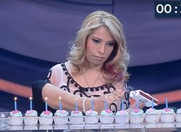 Woman Without Arms Sets World Record For Lighting Candles With Feet