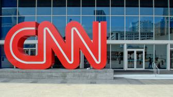 UNITED STATES - APRIL 03:  A CNN logo stands outside the CNN Center on Tuesday April 3, 2007 in Atlanta, Georgia.  (Photo by Chris Rank/Bloomberg via Getty Images)