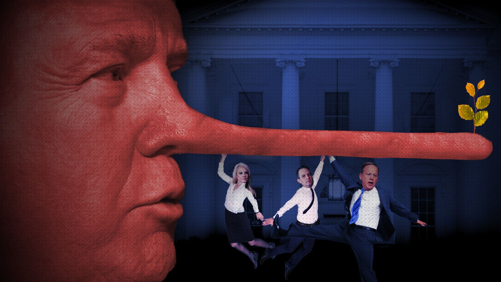 The First 100 Lies: The Trump Team's Flurry Of