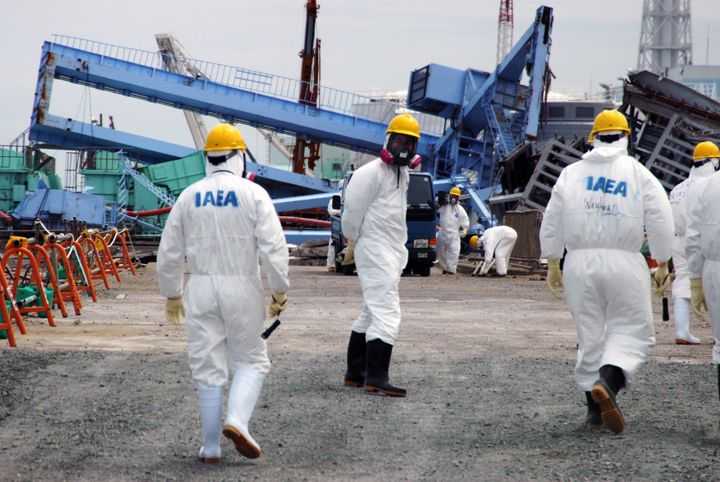 Shown here, members of an International Atomic Energy Agency (IAEA) Fact-Finding Mission in Japan, visiting the Fukushima Dai