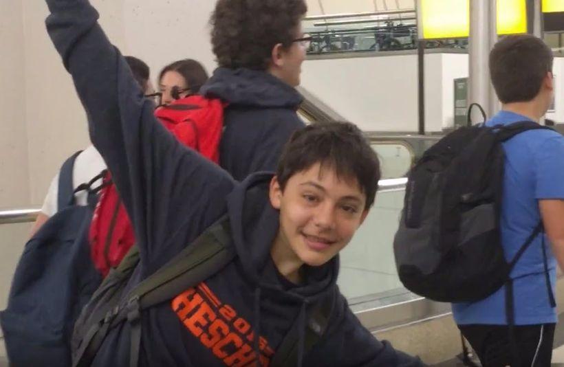 <em>Zev Minsky-Primus, 13</em>