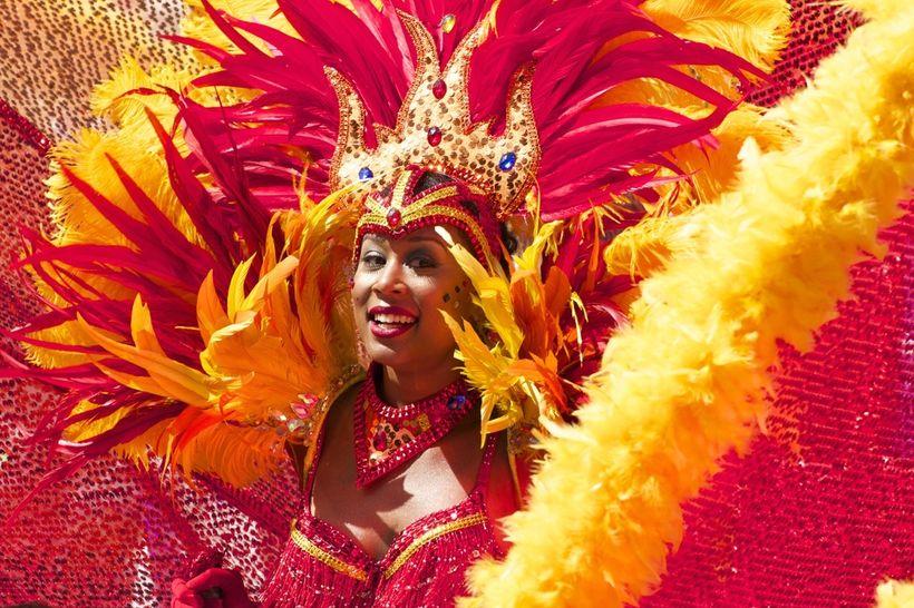 Samba dance schools begin preparing over a year in advance for <em>Carnival do Brasil</em>.