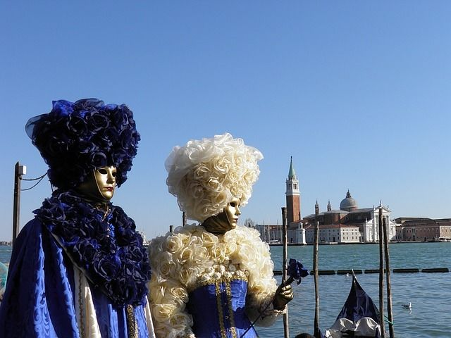 Plan your costume, mask and itinerary accordingly before celebrating in the City of Water.