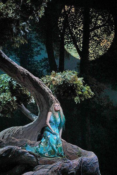 Kristine Opolais in the title role of Dvořák's <em>Rusalka.</em>