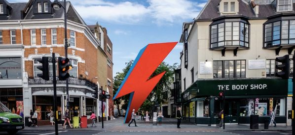 David Bowie Fans Reveal Plans To Build A Giant Lightning Bolt In His Hometown