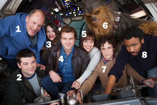 Han Solo movie releases first cast photo