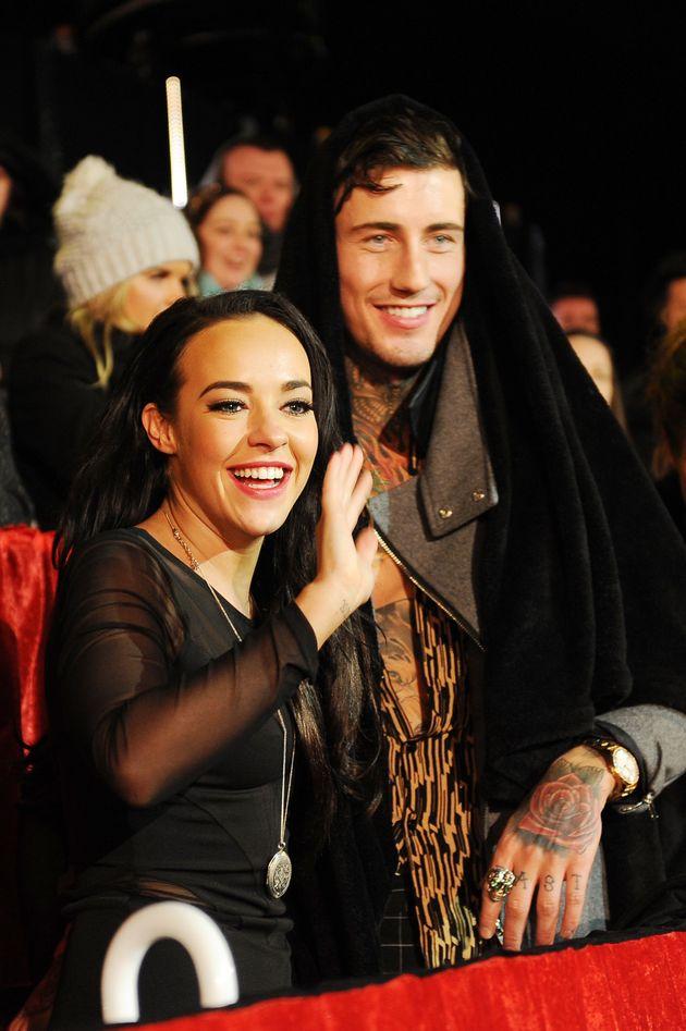 Stephanie Davis and Jeremy
