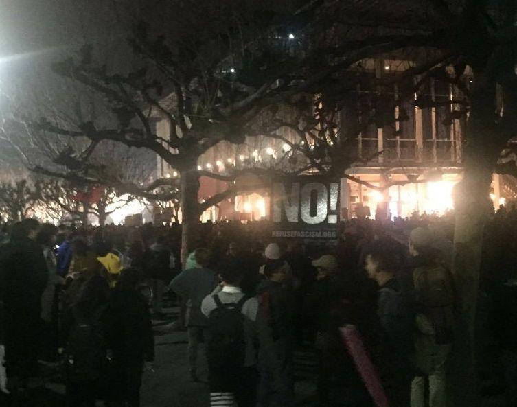 Protests at UC Berkeley