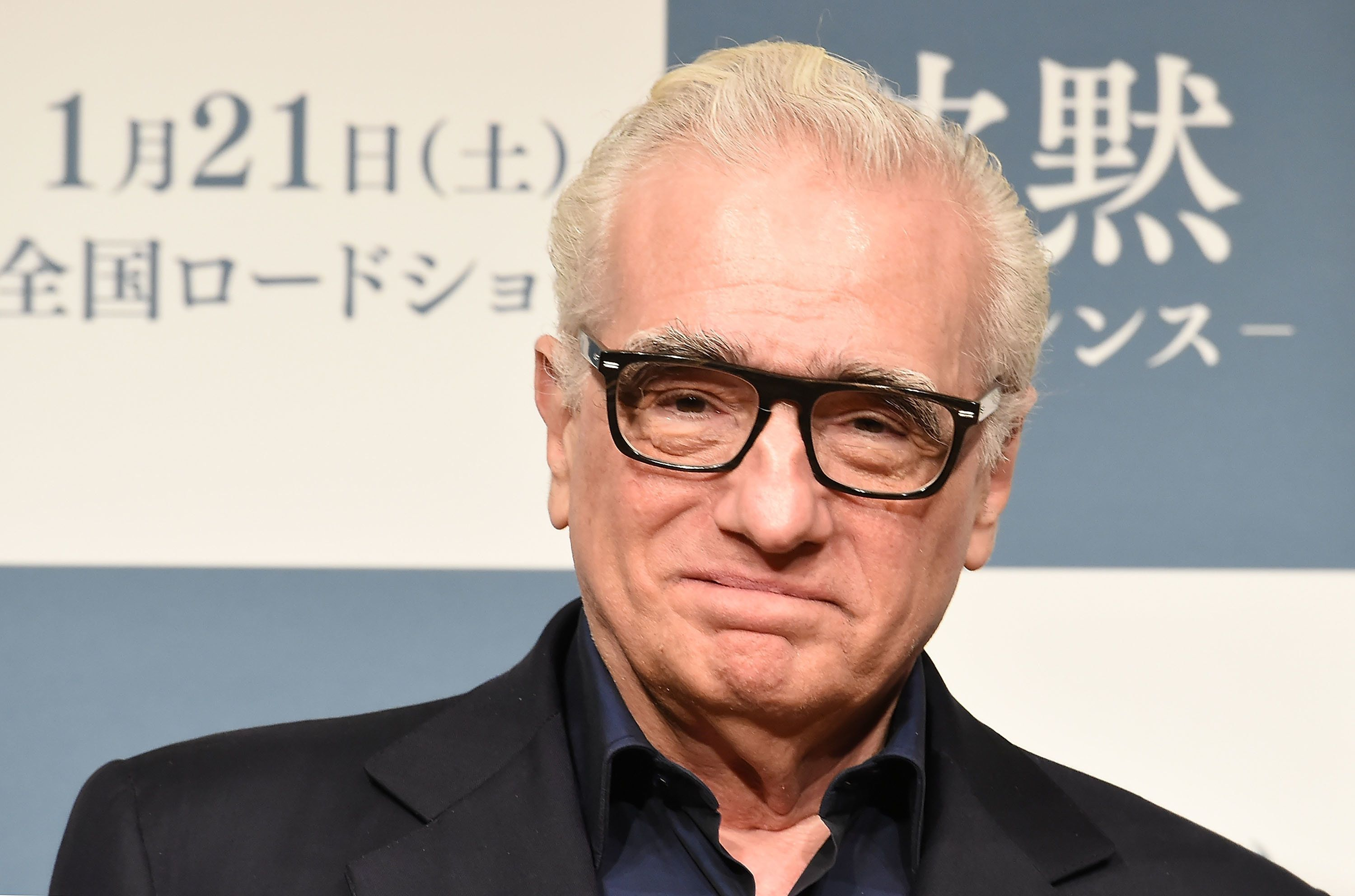 TOKYO, JAPAN - JANUARY 16:  Director Martin Scorsese attends the press conference for 'Silence' at the Ritz-Carlton on January 16, 2017 in Tokyo, Japan.  (Photo by Jun Sato/WireImage)