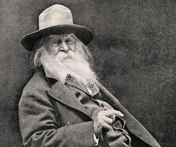 American poet Walt Whitman in an undated image.