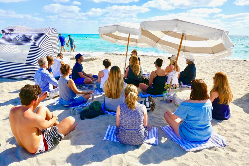 New pop-up meditation classes on Miami Beach can reset your mind, body and spirit