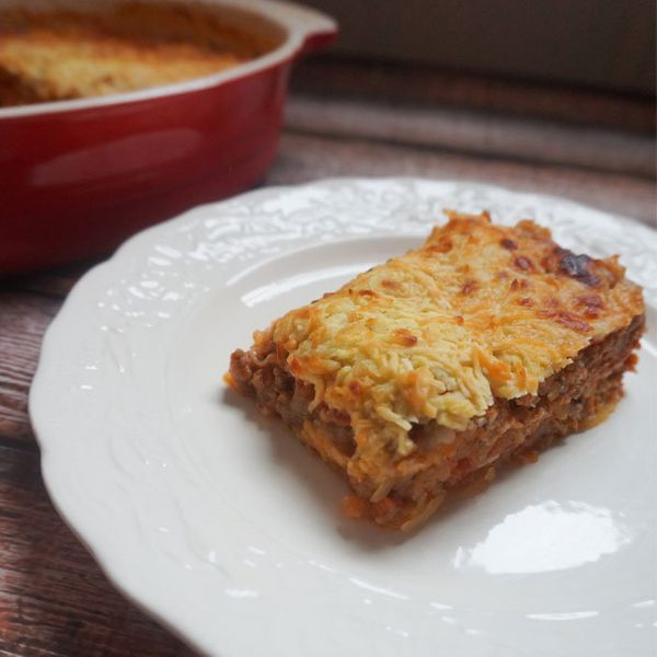 "<strong>Get the <a href=""http://nobunplease.com/italian-spaghetti-squash-casserole/"" target=""_blank"">Italian Spaghetti Squash"
