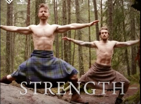 People Are Losing It Over This NSFW Video Of Men Doing Yoga In