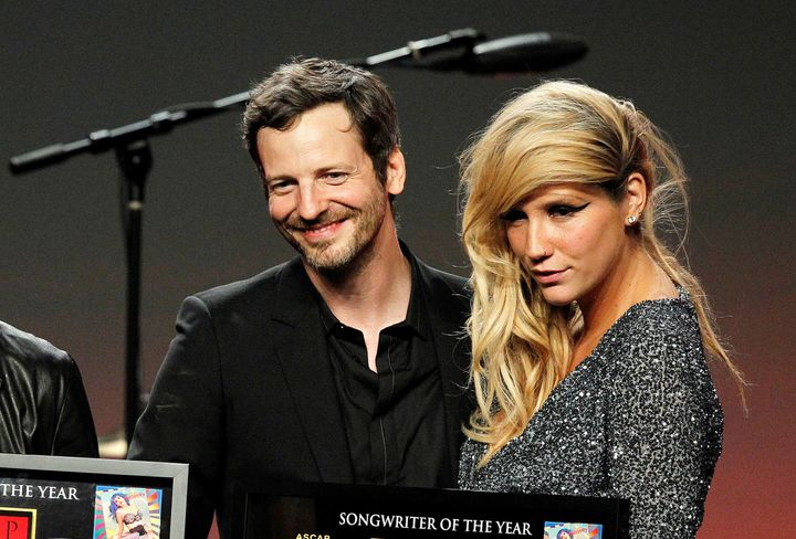 Dr. Luke and Kesha in 2011.