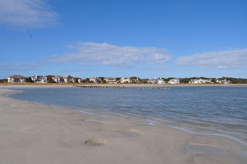 Hilton Head Island sports 12 miles of Atlantic Ocean facing beaches.