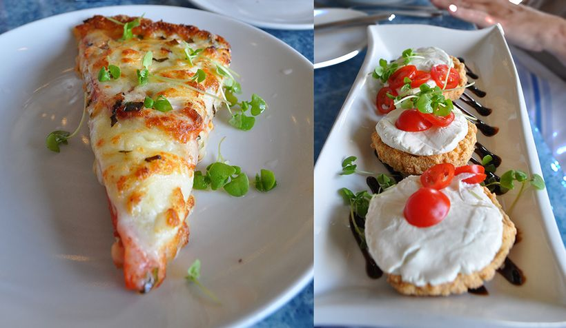 Try something Southern while in Hilton Head, like the tomato pie and fried green tomatoes from Poseidon Coastal Cuisine