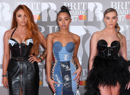 Little Mix Bring Back Madonna's Conical Bra At The Brit Awards