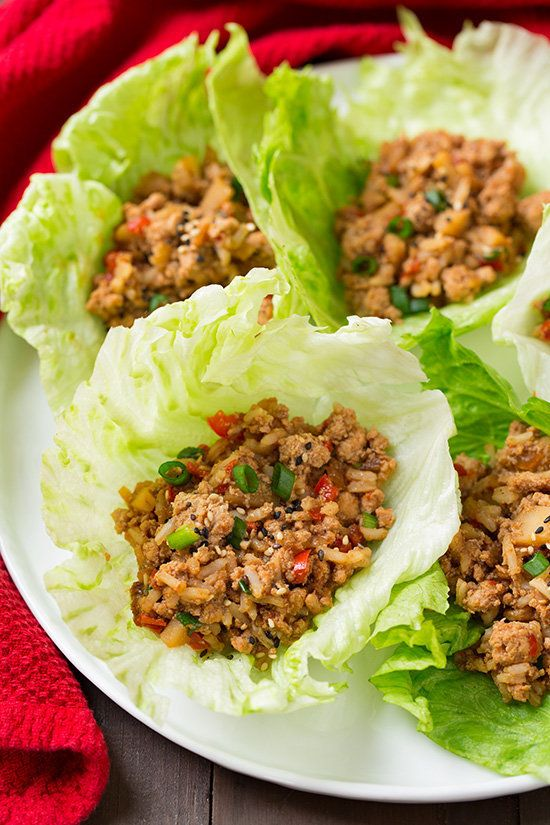 "<strong>Get the <a href=""http://www.cookingclassy.com/slow-cooker-asian-chicken-lettuce-wraps/"" target=""_blank"">Slow Cooker A"