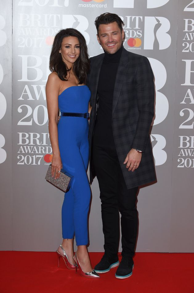 Brit Awards 2017: Michelle Keegan Channelled Sandy From 'Grease' In Skin-Tight