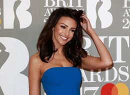 Michelle Keegan Channelled Sandy From 'Grease' In Skin-Tight Catsuit At The Brit Awards