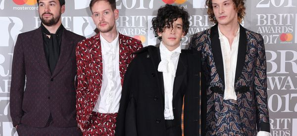 The 1975 Go All Out On The Brit Awards Red Carpet