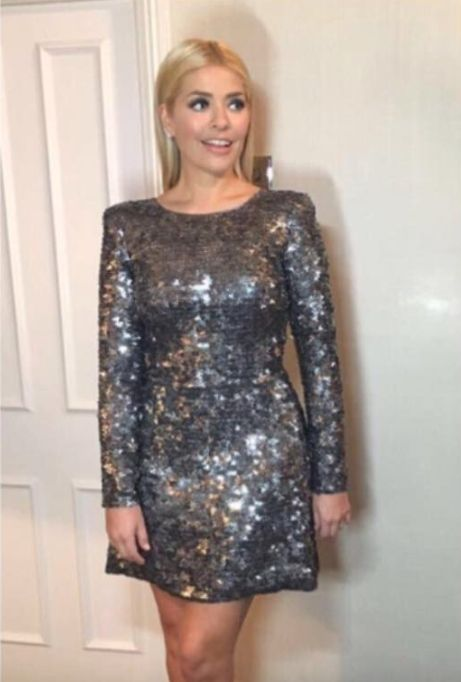 Holly Willoughby Had Her Brit Awards Dress Specially Made By A Wedding Dress