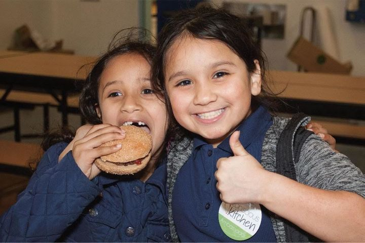 "More than 70 percent of students at Peres Elementary in Richmond, California said they ""really liked"" the fresh,"