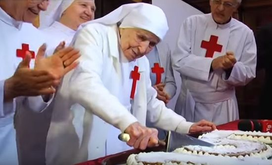 110-Year-Old Nun's Secret To Long A Life Is Pretty