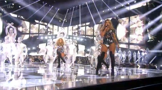 Brit Awards: Little Mix Performs 'Shout Out to My Ex'
