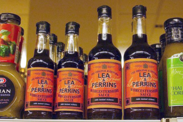 """In case you didn't know, it's made with<a href=""""http://www.huffingtonpost.com/entry/what-is-worcestershire-sauce_us_57a"""
