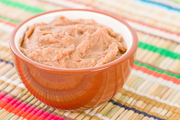 """Traditional refried beans <a href=""""http://www.seriouseats.com/2014/04/how-to-make-great-refried-beans-recipe.html"""" target=""""_b"""