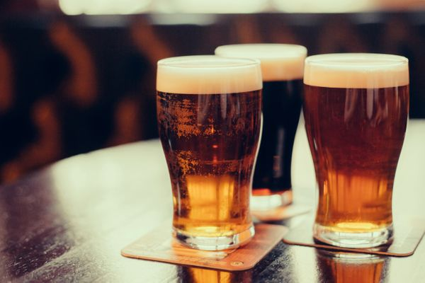 """Yep, even beer isn't always safe. Some beers -- and actually some wines, too -- are clarified using <a href=""""http://www"""