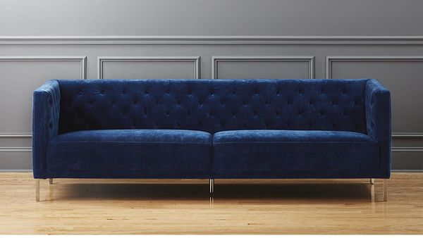 "<strong>Savile mariner sofa, $1,899, from <a href=""https://www.cb2.com/savile-mariner-sofa/s163756"" target=""_blank"">CB2<"