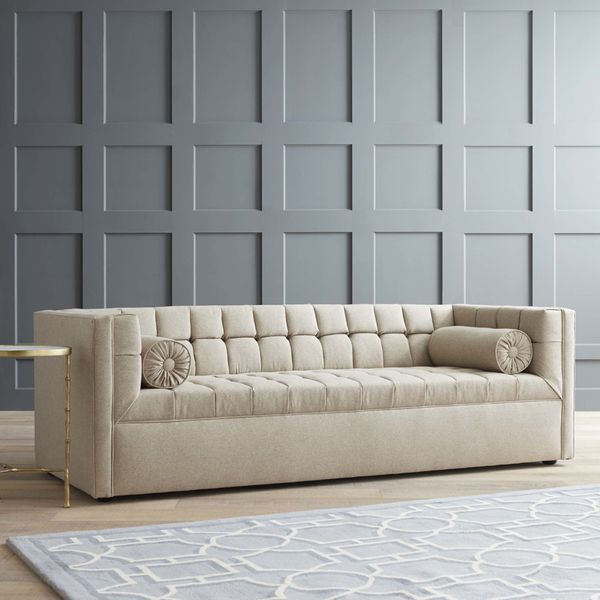 "<strong>Langford sofa, $1,799, by <a href=""https://www.wayfair.com/DwellStudio-Langford-Sofa-DWL8692.html"" target=""_blank"">Dw"