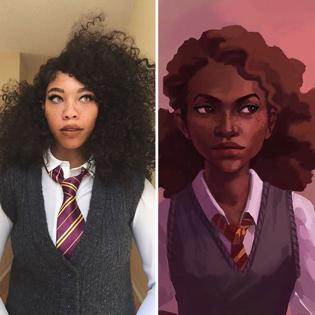 Hermione Granger from the Harry Potter