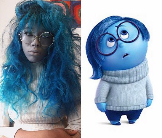 """Sadness from """"Inside Out"""""""