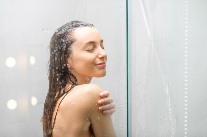 <strong>Taking a shower too late</strong>