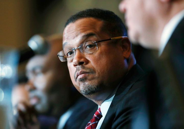 Rep. Keith Ellison (D-Minn.) is one of the two frontrunners in the race to chair the DNC.